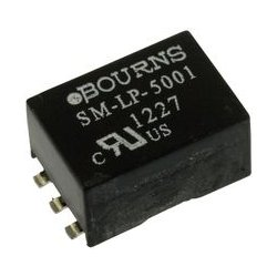 Bourns - SM-LP-5001 - Audio Transformer 1:1 2000Vrms 115Ohm Prim. DCR 115Ohm Sec. DCR 0.25dB 2dB Surface Mount (Qty = 53)