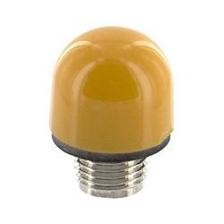 Dialight - 101-0973-003 - Indicator Lens, Amber, Incandescent Panel Mount Indicators, 101 Series