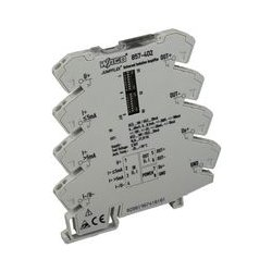 Wago - 857-402 - Isolation Amplifier, 857 Series, JUMPFLEX, Current, Voltage Input and Output, 24 Vdc