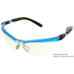 3M - 11472-00000-20 - Glasses, BX Protective, Mirrored, Silver, Blue, 11472 Series