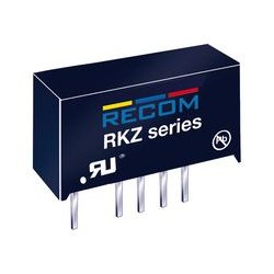 Recom Power - RKZ-1215S/H - Isolated Board Mount DC/DC Converter, Medical, 1 Output, 2 W, 15 V, 132 mA