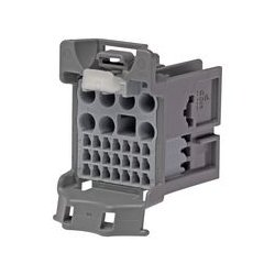 Molex - 160014-0004 - Heavy Duty Connector Base, Hybrid, stAK50h 160014 Series, Cable Mount