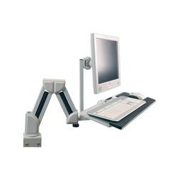Pro Signal - 83-12999 - Desk Mounted LCD Mount with Keyboard Tray