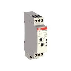 ABB - 1SVR500100R0100 - Analog Timer, CT-D Series, On-Delay, 50 ms, 100 h, 7 Ranges, 2 Changeover Relays