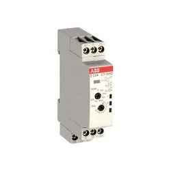 ABB - 1SVR500110R0100 - Analog Timer, CT-D Series, Off-Delay, 50 ms, 100 h, 7 Ranges, 2 Changeover Relays