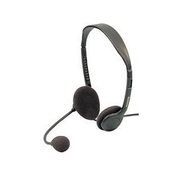 Pro Signal - AV01501 - Stereo Headphones, with Microphone
