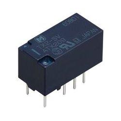 Panasonic - TX2-12V - Signal Relay, DPDT, 12 VDC, 2 A, TX Series, Through Hole, Non Latching
