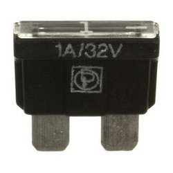 Littelfuse - 168.6785.4102 - Fuse, Automotive, Fast Acting, 1 A, 32 V, 11.9mm x 3.8mm x 8.6mm, FK1 MINI Series