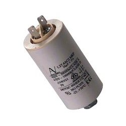 KEMET - C274AC35100AA0J - Film Capacitor, 10 F, C27 Motor Run Series, 470 V, Quick Connect, Snap-In, 5%, 20 V/ s