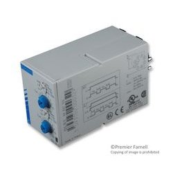 Crouzet / CST - 88867155 - Analog Timer, Chronos 2, OLR1 Series, Repeat Cycle, 7 Ranges, 0.1 s, 100 h, 1 Changeover Relay