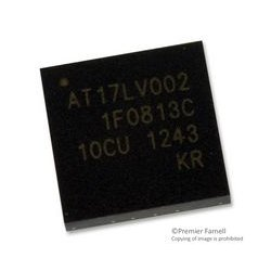 Microchip - AT17LV002-10CU - FPGA Configuration Memory, EEPROM, 2 Mbit, 33 MHz, 2 Wire, LAP, 8 Pins
