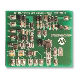 Microchip - TC1016/17EV - Evaluation Board Kit, LDO, Low Dropout Linear Regulator, Overcurrent Protection