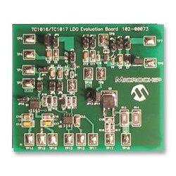Microchip - TC1016/17EV - Evaluation Board Kit, LDO, Low Dropout Linear Regulator, Overcurrent Protection