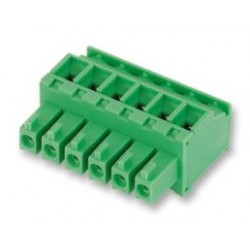 Phoenix Contact - 1827185 - Pluggable Terminal Block, 3.81 mm, 8 Positions, 28 AWG, 16 AWG, 1.5 mm, Screw