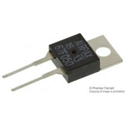 Airpax - 67F050 - Thermostat Switch, Subminiature, Bimetal Disc, 6700 Series, 50 C, Normally Open, TO-220