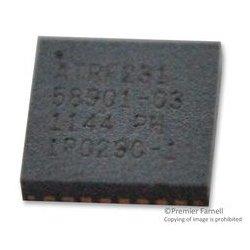 Microchip - AT86RF231-ZUR - RF TRANSCEIVER, 2.405GHz to 2.48GHz, QFN-32