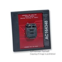 Microchip - AC164348 - MPLAB PM3 Socket Module for 40L QFN (5x5mm body, 0.5mm Thickness)