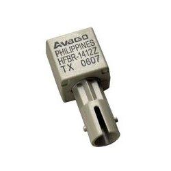 Avago - HFBR-1412TMZ - Fiber Optic Transmitter, Miniature Link, ST Port, 820 nm, 5 Mbps, 1.5 km, 100 mA, 1.84 V, 3.8 V
