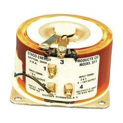 Staco Energy - 511 - Variable Transformer, 120 VAC, 140 VAC, 5 A, 7 A, CW / CCW