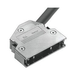 3M - 10350-C500-00 - Connector Backshell, Junction Backshell, 50 Position Connectors, 60, Zinc Alloy Body, 103 Series