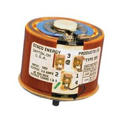 Staco Energy - 291 - Variable Transformer, 120 VAC, 120 VAC, 3 A, 3 A, CW / CCW