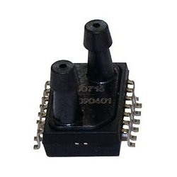 Amphenol - NPA-300B-05WG - Pressure Sensor, SMT, NPA Series, 0.181 psi, Analogue, Gauge, 3.465 V, Barbed, 1.5 mA