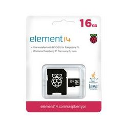 Transcend - TSRASPI10-16G - Flash Memory Card, MicroSDHC Card, UHS-1, Class 10, 16 GB