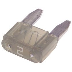 Littelfuse - 0297002.WXNV - Fuse, Automotive, Fast Acting, 2 A, 32 V, 10.9mm x 3.8mm x 8.8mm, MINI 297 Series