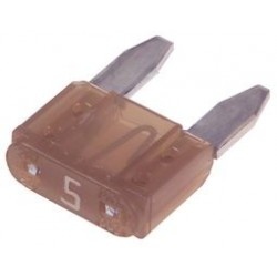 Littelfuse - 0297005.WXNV - Fuse, Automotive, Fast Acting, 5 A, 32 V, 10.9mm x 3.8mm x 8.8mm, MINI 297 Series