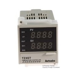 Autonics - TZ4ST-14R - Temperature Controller, DIN 48x48, Terminal Type, Event 1, 100 to 240 Vac, Relay Output