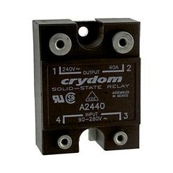 Crydom / CST - A2440 - Solid State Relay, SPST-NO, 40 A, 280 VAC, Panel, Screw, Zero Crossing