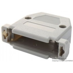 Multicomp - SPC15461 - D Sub Backshell, DB, 180, ABS (Acrylonitrile Butadiene Styrene) Body