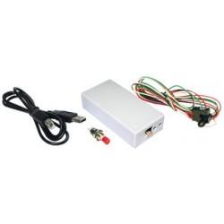 Lin Engineering - USBKIT - Designer Kit, Silverpak Series Motors, USB to RS232 Converter Card, Pushbutton, Optosensor, Cable