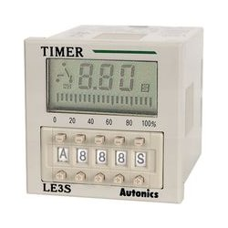 Autonics - LE3S-24-240 - Timer, LE3S Series, Multifunction, 0.01 s to 9990 h, SPDT Output, 240 V