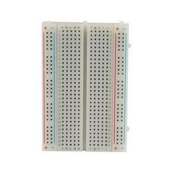 MCM Electronics - 21-18936 - Half-size Breadboard with 300 Tie Points