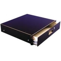 Hammond Manufacturing - RDRW1900712BK1 - Enclosure Accessory, Drawer, 19 Panel Width Racks, Steel, Black, 7 , 17.36