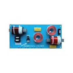 MCM Electronics - CRX-3003K - Crossover, 3-Way, 600W, 375Hz/3KHz, 12dB, 4/8ohms, Passive, Solder or 1/4 Quick-Disconnect
