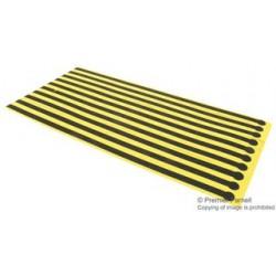 Multicomp - 068-0009F - ESD Grounder, Heel, Black, Yellow, 300 mm