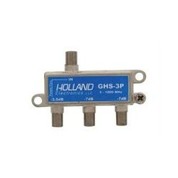Holland Electronics - GHS-3P - High Shield Splitter Combiner 3-way One Port Power Passive