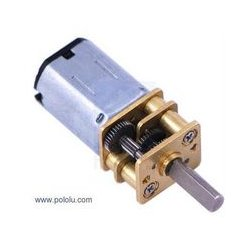 Pololu Robotics - 1101 - Geared DC Motor, Micro Metal, 100:1, 6 V, 320 rpm, 30 in-oz