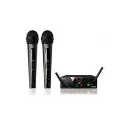 AKG Acoustics - 3350H00020 - Dual Uhf Wireless Microphone Dual Handheld Microphones