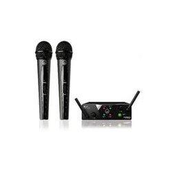 AKG Acoustics - 3350H00020 - Dual Uhf Wireless Microphone Dual Handheld Microphones