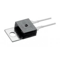 Airpax - 67F060 - Thermostat Switch, Subminiature, Bimetal Disc, 6700 Series, 60 C, Normally Open, TO-220
