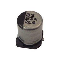 Panasonic - EEH-ZC1H330XP - Capacitor, Hybrid Polymer, 33 F, 50 V, ZC Series, 20%, Radial Can - SMD, 0.04 ohm