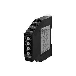 Omron - K8DT-AS1CD - Current Monitoring Relay, Single Phase, K8DT-AS Series, SPDT, DIN Rail, Screw
