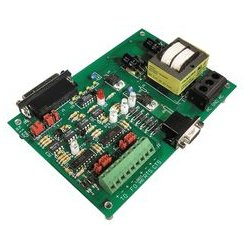Opto 22 - AC7A - Adapter Card, RS232 to RS422/RS485 Converter, Optomux Brain Boards, 120 Vac