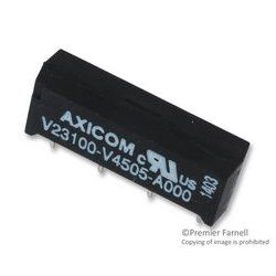 TE Connectivity - V23100V4505A000 - Reed Relay, SPST-NO, 5 VDC, V23100 Series, Through Hole, 500 ohm, 500 mA