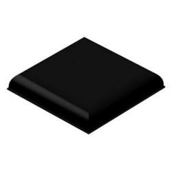3M - SJ-5705 BLACK - Bumper / Feet, Square, Black, 6.4 mm, PU (Polyurethane), Adhesive, Bumpon SJ5700 Series