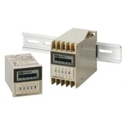 Omron - H3CA-FA - DIN Rail Digital Timer, HC3A Series, Multifunction, 0.1 s, 9990 h, 7 Ranges, 3