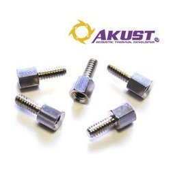 Akust Technology - SK00-0011-AKS - #4-40 Metal Jackscrew Standoffs